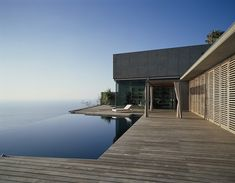 Jardin del Sol House by CA+A Architects...perfect, if you have the sea right there.....