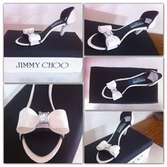 Jimmy Choo shoe cake  Cake by Sweetharts Cupcakes