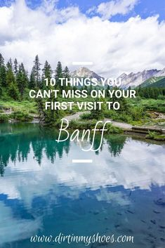 Banff National Park is one of the most beautiful places in Canada, and should be on everyone's bucket lists! Planning an itinerary for your family vacation can be a challenge though, that's why I'm sharing this list of 10 things to do in Banff. Whether you're hiking with kids, camping with families, or are on a solo photography adventure through Alberta, this travel guide will help you choose the best hikes, discover mountain lakes and glaciers, and have the best road trip! #9 is incredible! Canada National Parks, Banff National Park, Hiking With Kids, Nature Activities, And So The Adventure Begins, Best Hikes, Greatest Adventure, Go Camping, Plan Your Trip