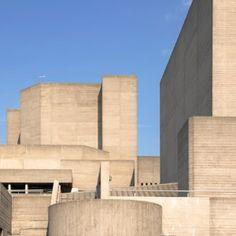 Brutalist+buildings:+National+Theatre,++London+by+Denys+Lasdun
