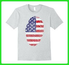 Mens 4th of July Independence Day Printed T-shirt Small Heather Grey - Holiday and seasonal shirts (*Amazon Partner-Link)