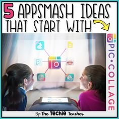 If you enjoy appsmashing, the process of using multiple apps in conjunction with one another to complete a project, AND using the PicCollage app, then read on to learn about 5 creative lesso…
