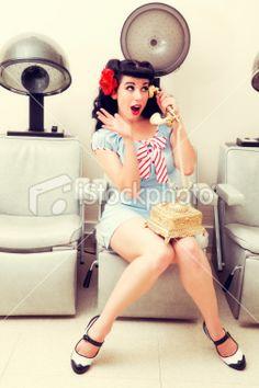 so freakin cute.  i love old salon hair dryers.