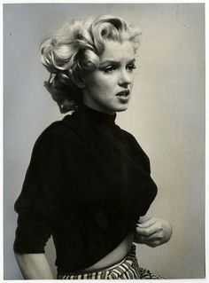 1953 Marilyn Monroe Vintage Ben Ross Photograph Emotional Sexy Bombshell View