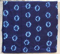 Pagne Indigo, tissu africain