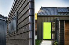 Idea Ehouse - Fairlands by ICR Studio Ltd in Auckland, New Zealand Auckland, New Zealand, Terrace, Facade, Architecture Design, Solar, Garage Doors, Studio, Outdoor Decor