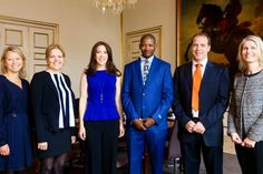 MyRoyals:  Crown Princess Mary attended a meeting with the Mary Foundation, the South African Brothers for Life association, and Dialogue Against Violence association, May 25, 2015