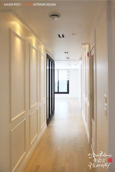 웨인스코팅으로 완성한 34평 신혼집 화이트 인테리어! : 네이버 포스트