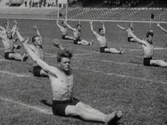 How Olympic gymnastics used to be - Paris 1924 Olympic Games    Such a gem. So hilarious!!