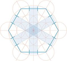 Method for trisecting the side of a hexagon
