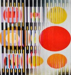 Midnight Light Agamograph by Yaacov Agam