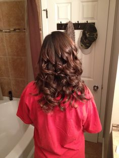 Closer view of the color ombré on my sister