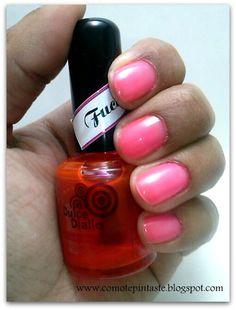 3 ideas para usar la colección Luminiscentes de Dulce Diallo  #nails #uñas #comotepintaste #esmaltes #polish #terminados #reviews #luminiscentes #vitral #dulcediallo #swatches #rosa #pink