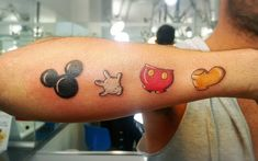 40 Classic Mickey and Minnie Mouse Tattoos – A Way To Preserve the Magic