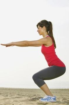 Knee Exercises for Knees That Crack When Squatting-I need this!