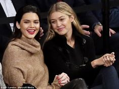 Reality stars: Kendall and Gigi both rose to fame as reality television stars...