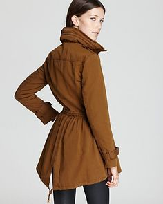 Burberry Brit Redbridge Soft Cotton Anorak with Zip Out Hood   Bloomingdale's