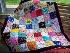 I Spy Quilt: grandma Suzanne made one for my kiddo. :)
