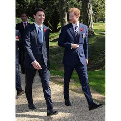 Prime Minister of Canada, Justin Trudeau and Prince Harry attend the commemorations for the anniversary of the battle of Vimy Ridge on April 2017 in Lille, France. Get premium, high resolution news photos at Getty Images Prince Harry And Megan, Prince Henry, Harry And Meghan, Harry And Megan Markle, Meghan Markle, Princess Of Wales, Princess Diana, Justin Trudeau Family, Justin James