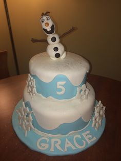 Grace's Frozen cake