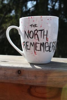 Love this! Game of Thrones inspired The North by PaintfullyBeautiful on Etsy, $12.00