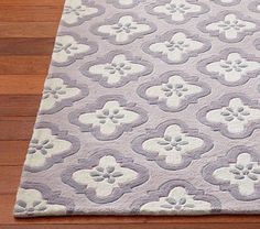 I love the Finley Rug on potterybarnkids.com Lavender and Gray
