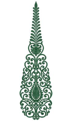 9720 Anarkali Embroidery Design