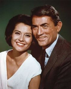 Diane Baker con Gregory Peck