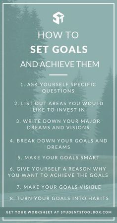 Want to know how to start your new year right? Here are some ideas and inspirations on how you can set goals and achieve them, along with a free printable goal setting worksheet for you to fill in and plan your life/year ahead!