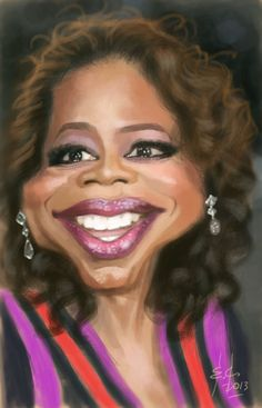 Oprah by StudioCandia on DeviantArt