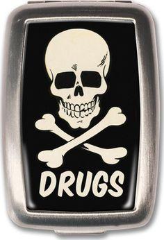 Retro A Go Go - Drugs Pill Box - Buy Online Australia Beserk