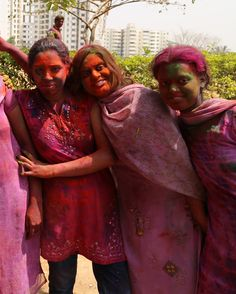 Happy Holi from Bangalore, India.
