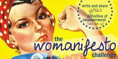 LINK UP///THE WOMANIFESTO CHALLENGE
