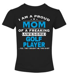 Golf Player Mom Shirt