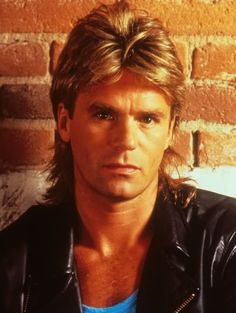How To Achieve The MacGyver Mullet Hairstyle