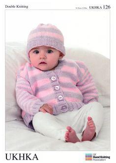UKHKA Baby Knitting Patterns £2.79