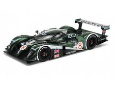 The TrueScale Minitatures 1/18 Bentley Speed 8, No.8, 2003, Sebring 12H is a superbly detailed limited edition model car. This multi piece model displays superb details and can be displayed in several different ways.