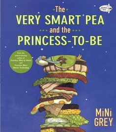 When it comes to sorting out a Real Princess from a Fake Princess, the famous pea-under-the-mattress test is tried-and-true. But for those of you who may have wondered how anyone could feel a tiny garden-variety pea under the weight of twenty mattresses, this book will put that question to rest once and for all. This witty spoof was shortlisted for the prestigious Kate Greenaway Medal in the UK. It was Mini Grey's first book and a worthy predecessor to such favorites as Traction Man is Here!