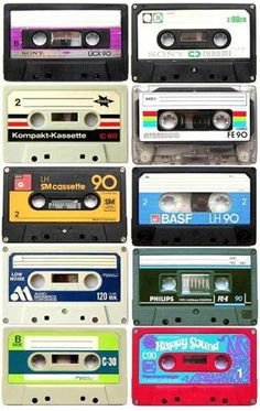 ...remember spinning them with a pencil to forward and rewind.