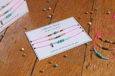 "Chouette Fille - Bracelets ""Mini Grigris"" Playa"