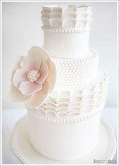 Otra de esas preciosas tartas de #boda que tanto me gustan