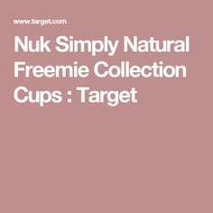 Nuk Simply Natural Freemie Collection Cups : Target