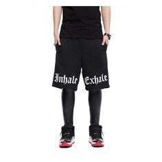 Zero Quality Unisex Hip Hop Cross Star Curve Double Stripe Sport Legging Pants >>> You can get more details by clicking on the image.