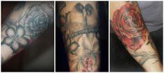 tattoos, bird tattoo, flower tattoo, rose tattoo, ink, body art