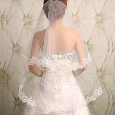 2016 Korean New Lace Long Bride Wedding Veil Wedding Gauze Sequins Lace White Dress Wedding Accessories