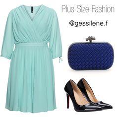 plus size by gessilene-ferreira on Polyvore featuring moda, Manon Baptiste and Bottega Veneta