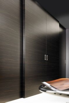 No doubt you may have read about a new style of hardware called barn door hardware, also known as flat track hardware. Wardrobe Door Designs, Wardrobe Design Bedroom, Modern Wardrobe, Wardrobe Closet, Closet Designs, Wardrobe Ideas, Bedroom Cupboard Designs, Bedroom Cupboards, Sliding Wardrobe Doors