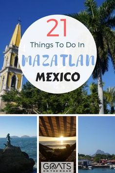 21 Cool Things To Do in Mazatlan Trying to choose where to go and what to see in Mexico? Mexico Vacation, Mexico Travel, Cozumel, Honduras, Travel Advice, Travel Tips, Fun Travel, Travel Hacks, Travel Guides
