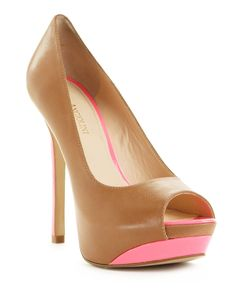 I like the pink accent on these!