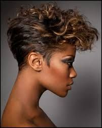 Image result for curly hair very short